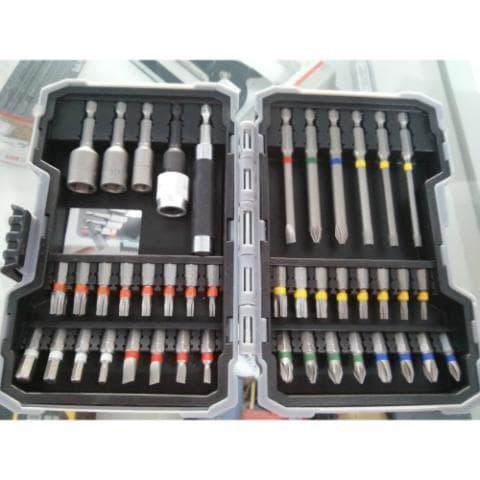 Caixa De Bits Bosch Com 43 Peças